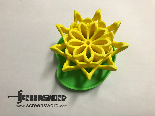 Medium Lotus Dry Soap Dish 3D Printing 138573