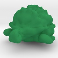 Small Turtle obj 3D Printing 13864