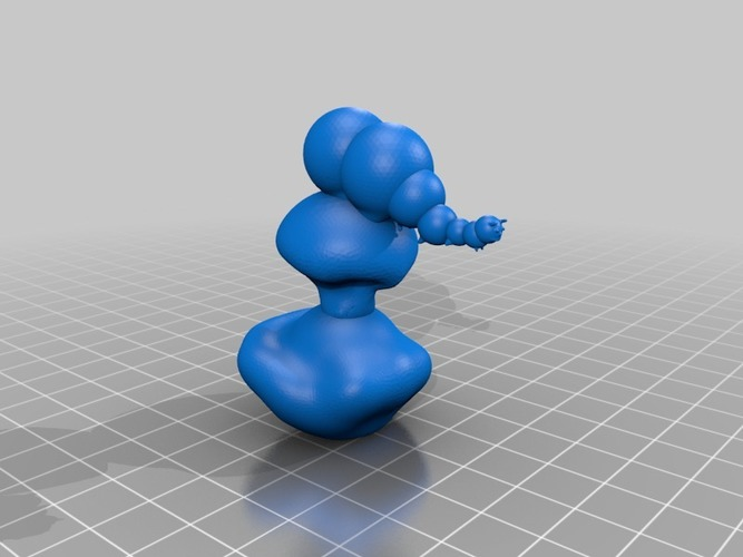 the catterpiller from alice in wonderland 3D Print 13867