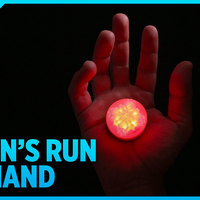 Small Logan's Run Hand Jewel LED 3D Printing 138734