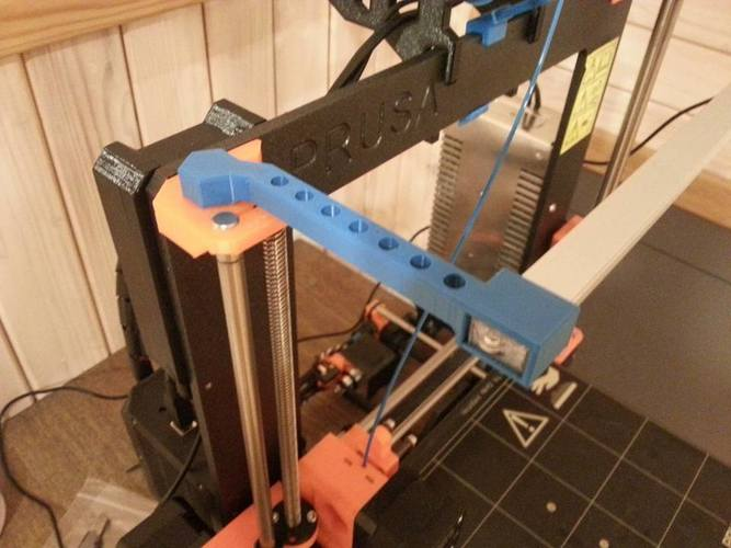 Prusa I3 MK2 LED bar holder 3D Print 138762