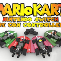 Small Mario Kart Joy Con Controllers - #Nintendo Switch 3D Printing 138784