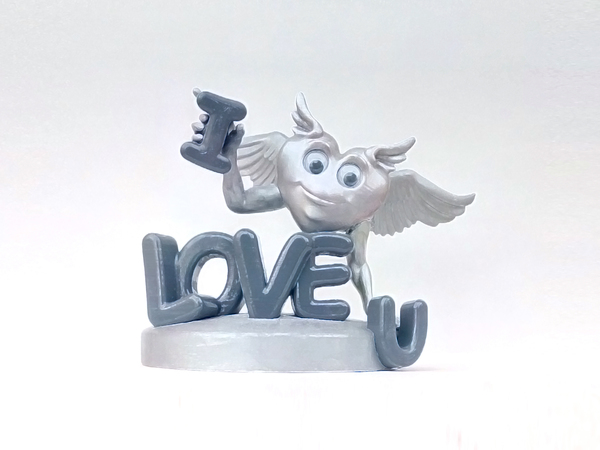 Medium Loving Heart 3D Printing 138801