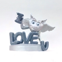 Small Loving Heart 3D Printing 138801