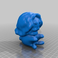 Small Lion 3D Printing 13884