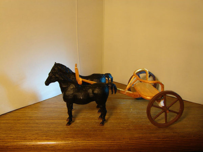 Egyptian Chariot 3D Print 138854