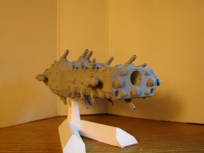 Cruiser - Spaceship 3D Print 138870