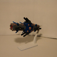 Small Frigate Porcupine 3D Printing 138879