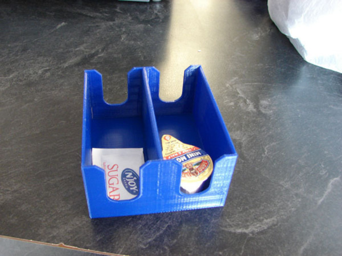 Sugar and Creamer Holder 3D Print 138886