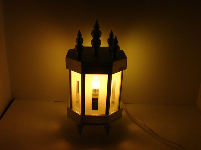 Lamp/Wall Sconce 3D Print 138906