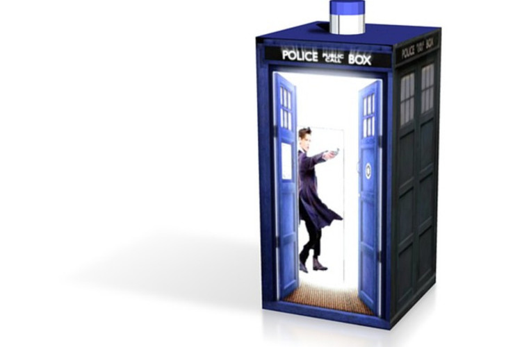 Second life one piece matt smith tardis 3D Print 13899