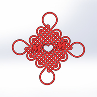 Small Cross knot-Gift for Mother's Day (2017) 3D Printing 139003