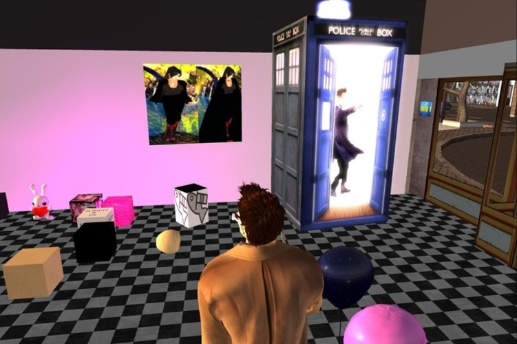 Second life one piece matt smith tardis 3D Print 13901