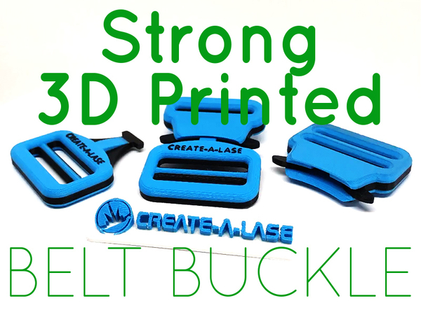 Medium Quick Release Belt Buckle 3D Printing 139042