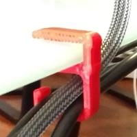 Small Ikea's Glasholm Cable Holder  3D Printing 139050