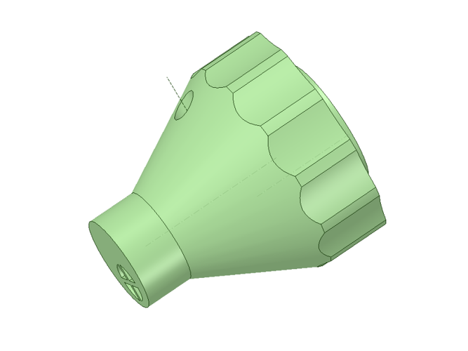Bottle Caps Dispenser for Garden 3D Print 139073