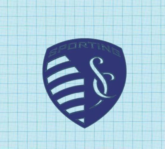 Sporting Kansas City Club Shield 3D Print 139085