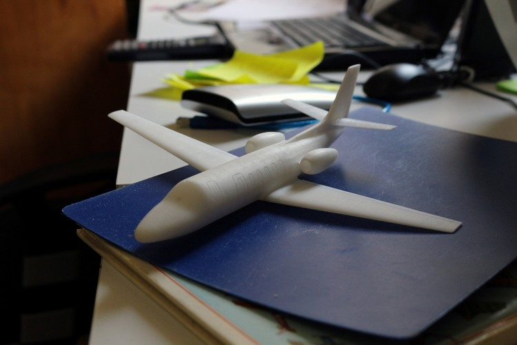 Cessna Citation SII Scale Model 3D Print 139142