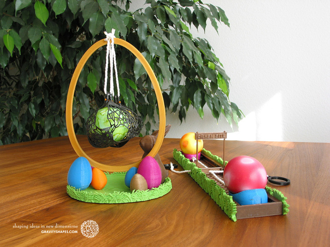 Easter Eggs Crasher: Swing 3D Print 139181