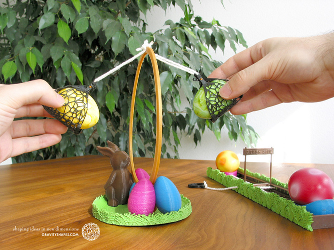 Easter Eggs Crasher: Swing 3D Print 139182