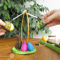 Small Easter Eggs Crasher: Swing 3D Printing 139182
