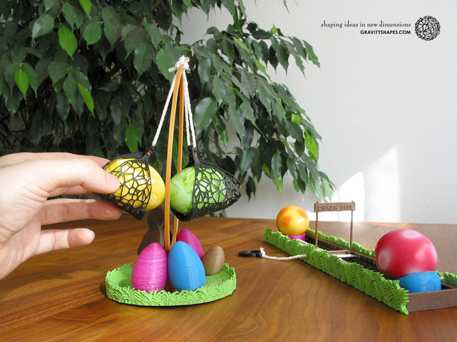 Easter Eggs Crasher: Swing 3D Print 139183
