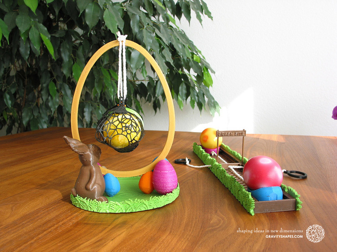Easter Eggs Crasher: Swing 3D Print 139184