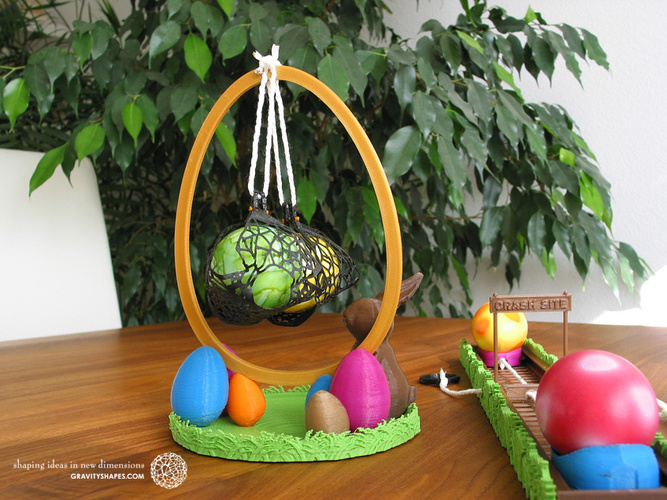 Easter Eggs Crasher: Swing 3D Print 139185