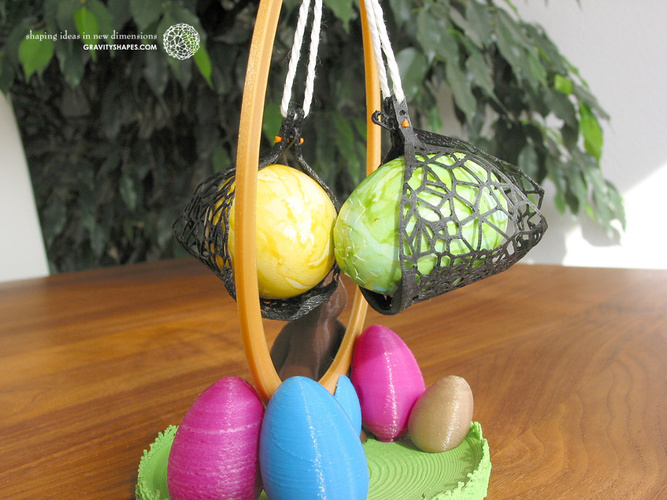 Easter Eggs Crasher: Swing 3D Print 139186