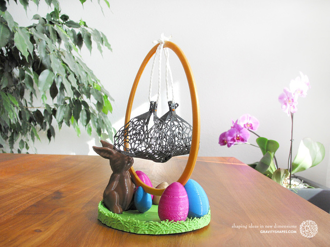Easter Eggs Crasher: Swing 3D Print 139187
