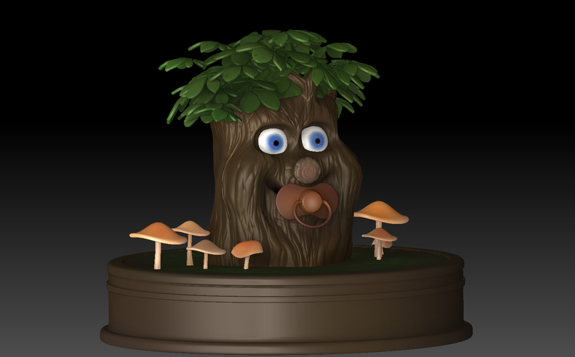 Fairytale Baby tree 3D Print 139244
