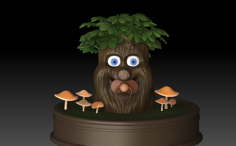 Fairytale Baby tree 3D Print 139245