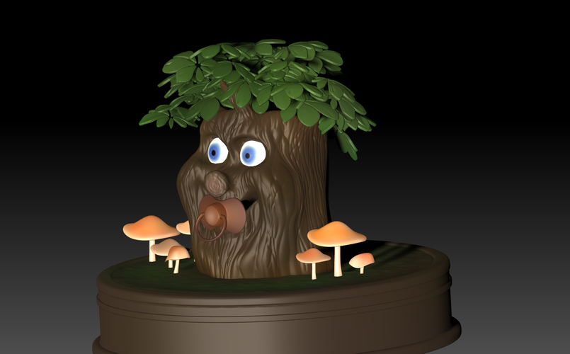 Fairytale Baby tree 3D Print 139246