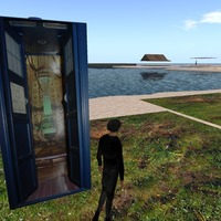 Small tardis model for 3d worlds not print 3D Printing 13925