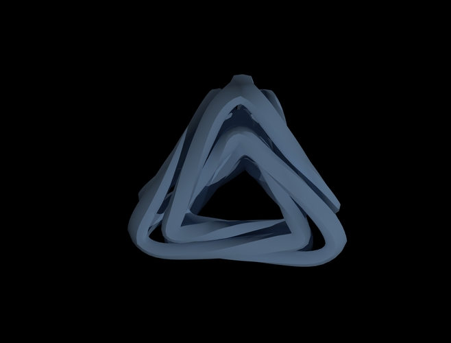 Triangle Twister 3D Print 139305