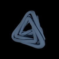 Small Triangle Twister 3D Printing 139308