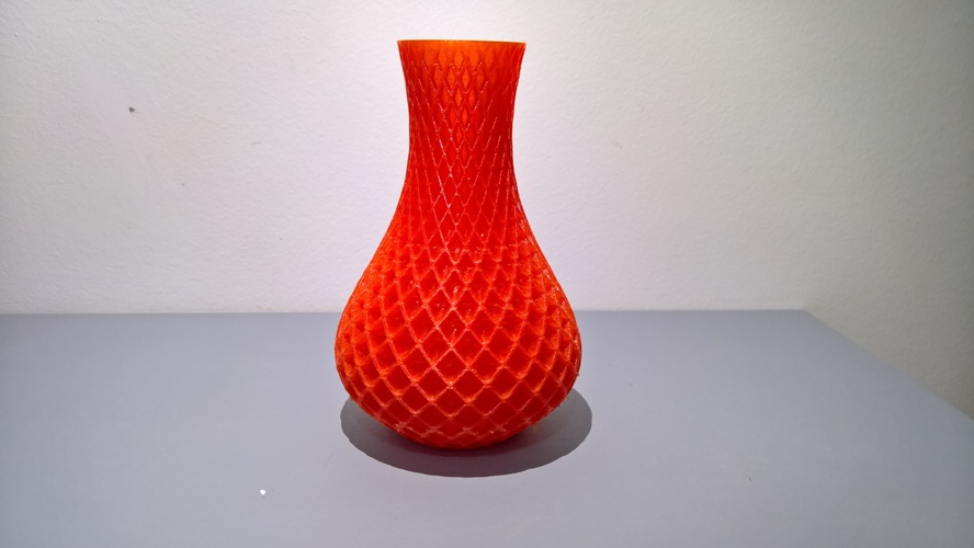 3d Printed Spiral Vase By Alen Kuhta Pinshape