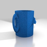 Small all seeing eye mug 3D Printing 13945