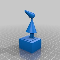 Small more printable silent princess 3D Printing 13948