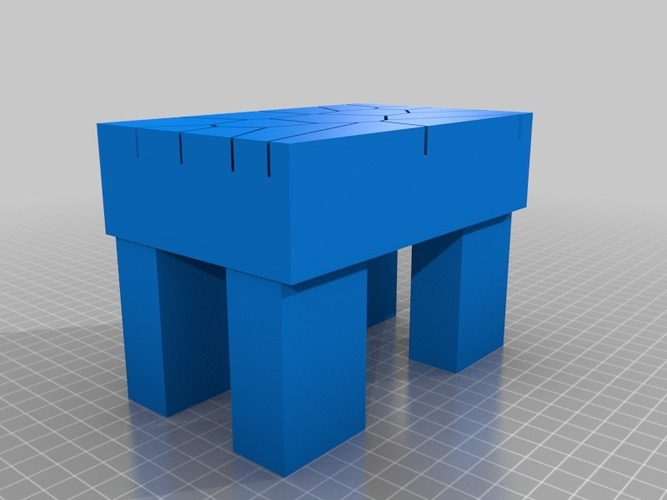 voronoi table 3D Print 13956