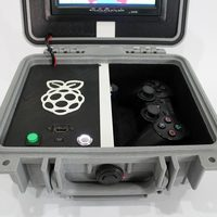 Small Retro Pie Box Version 2 - Portable Raspberry Pi Emulation Consol 3D Printing 139610