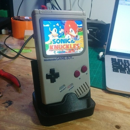 GameBoy DMG-01 Stand 3D Print 139620