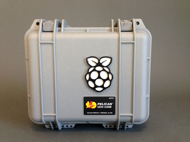 Retro Pie Box - Portable Raspberry Pi Emulation Console ***OUTDA 3D Print 139638