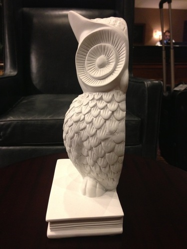 Owl Bookend 3D Print 139646