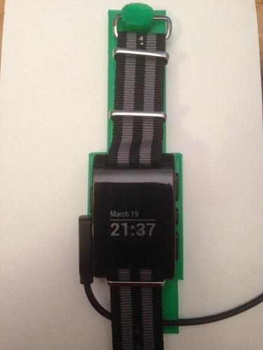 Pebble Watch Holder 3D Print 139647