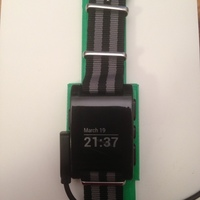 Small Pebble Watch Holder 3D Printing 139647