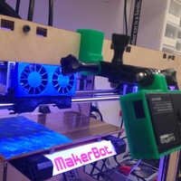 Small GoPro Replicator Mount 3D Printing 139651