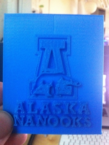 University of Alaska Fairbanks - Logo 3D Print 139656