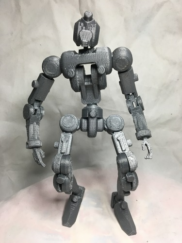 F.R.A.M.E core- robot action figure  3D Print 139678