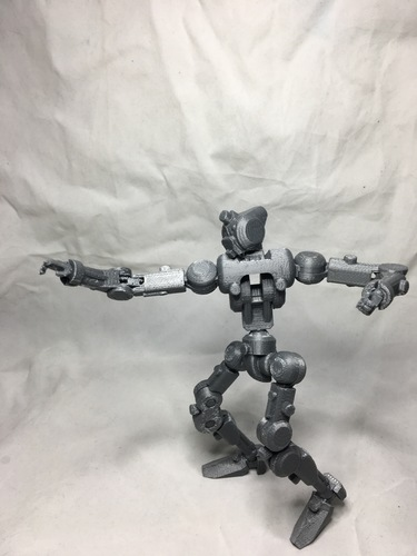 F.R.A.M.E core- robot action figure  3D Print 139680